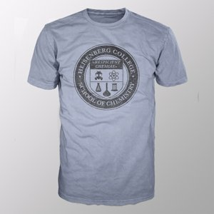Heisenberg College (Shirt L/Grey-Melange)