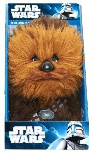 Joy Toy 100226 - Chewbacca, sprechender Plüsch, 23 cm in Display