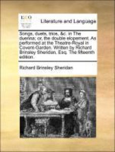 Songs, duets, trios, &c. in The duenna; or, the double elopement