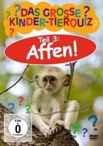 Das Grosse Kinder-Tierquiz 3-Affen