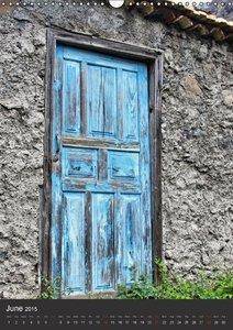 Doors on La Gomera (Wall Calendar 2015 DIN A3 Portrait)