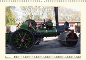 Steam engines (Wall Calendar 2015 DIN A3 Landscape)