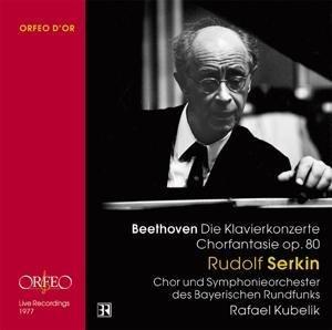 Klavierkonzerte 1-5 (GA)/Chorfantasie op.80