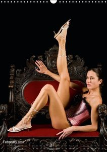 The Royal Chair - Nude Photography on the Throne (Wall Calendar