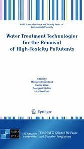 Water Treatment Technologies for the Removal of High-Toxity Poll