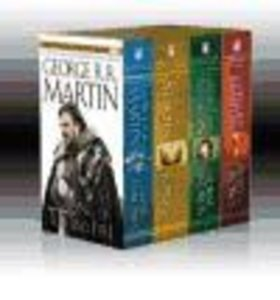 Song of Ice & Fire 4 Books Set Box : A Game of Thrones, a Clash