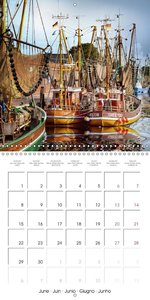 East Friesland - the old harbours (Wall Calendar 2015 300 × 300