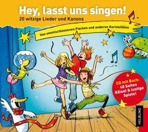 Hey, lasst uns singen. Lieder-CD