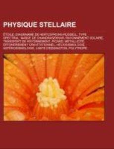 Physique stellaire