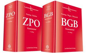 Bundle BGB Kommentar (12 Auflage) und ZPO-Kommentar (9. Auflage)