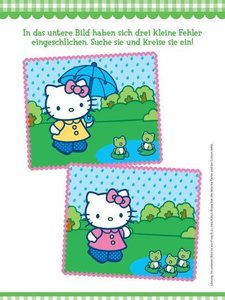 Hello Kitty Kindergartenblock