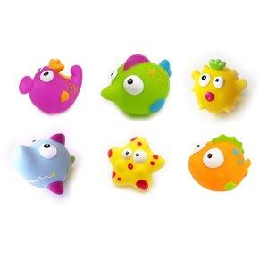 Escabbo 37006 - Spritztiere Unterwasserwelt, 6 Stück, lustiges B