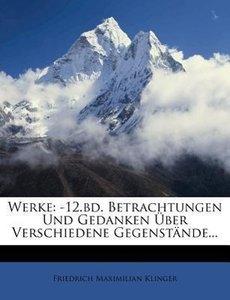 F.M. Klingers Werke: eilfter Band