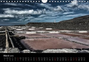 La Palma - Mountains and Cloude (Wall Calendar 2016 DIN A4 Lands
