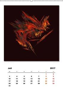 Ästhetisches Chaos - Traumweben (Wandkalender 2017 DIN A2 hoch)