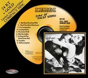 Scorpions: Love At First Sting-24k Gold-CD