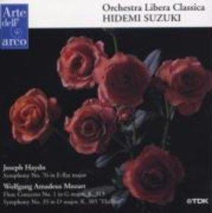 Sinfonie 76/Flute Concerto
