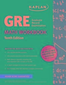 GRE MATH WORKBOOK 10E