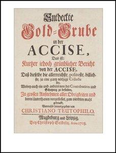 Der Akzisenstreit (1685-1719)