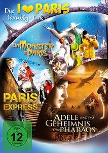 Luc Besson Paris DVD Box