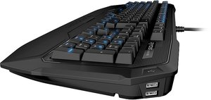 ROCCAT Ryos MK Pro, MX BLUE, Gaming-Tastatur (deutsches Tastatur
