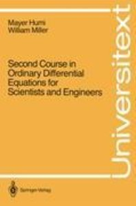 Second Course in Ordinary Differential Equations for Scientists