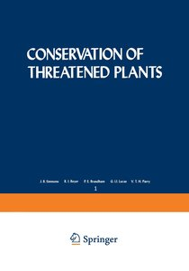 Conservation of Threatened Plants