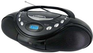 Tragbares CD-Radio CD44USB - grau/schwarz