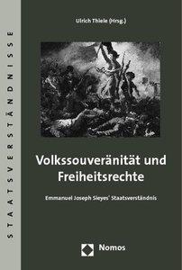 Volkssouveränität und Freiheitsrechte