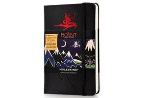 Moleskine Notizbuch Hobbit A6 liniert schwarz