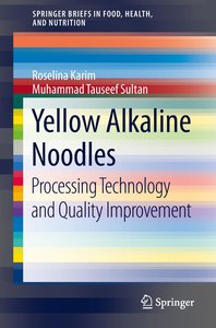 Yellow Alkaline Noodles