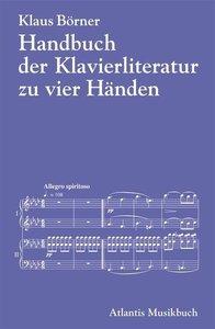 Handbuch der Klavierliteratur zu vier Händen an einem Instrument