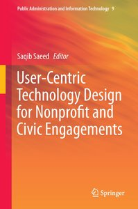 User-Centric Technology Design for Nonprofit and Civic Engagemen