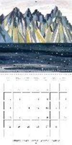 enchanting ICELAND (Wall Calendar 2015 300 × 300 mm Square)