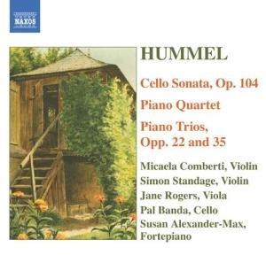 Cellosonate/Klavierquartett