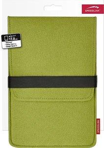 Speedlink ALUNY Felt Sleeve, 7 inch, Schutztasche, grün