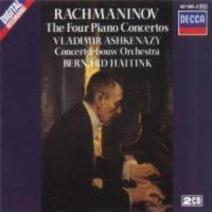 Sämtliche Klavierkonzerte 1-4 (GA)