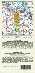 Eifelsteig von Aachen bis Trier 1 : 50 000