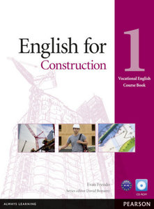 Vocational English Level 1 English for Construction (with CD-ROM
