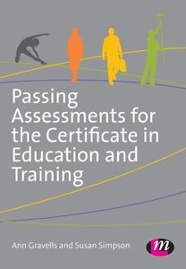 Passing Assessments for the Certificate in Education and Trainin