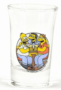 The Simpsons Schnapsgläser-Set 4teilig