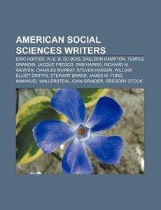 American social sciences writers