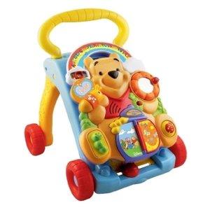 VTech Baby 80-114304 - Winnie Puuh: 2-in-1 Laufwagen