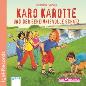 Karo Karotte und der geheimisvolle Schatz. CD - zum Schließen ins Bild klicken