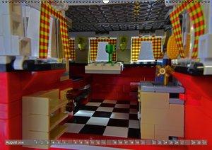 Der LEGO VW Bulli (Wandkalender 2016 DIN A2 quer)