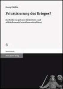 Privatisierung des Krieges?