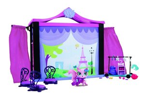 Hasbro A7942EU4 - Littlest Pet Shop Tierbühne
