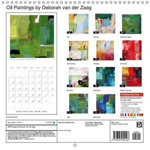 OIL PAINTINGS by Deborah van der Zaag (Wall Calendar 2015 300 ×