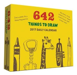 642 Things to Draw 2017 Daily Calendar