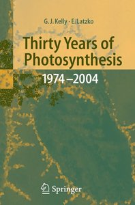 Thirty Years of Photosynthetic Carbon Metabolism 1974-2004